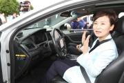 김현미장관 자율주행차 K-CITY